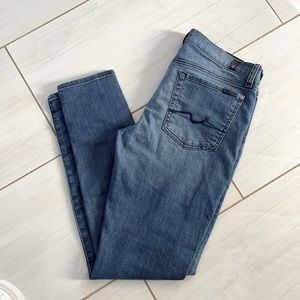7 For All Man Kind Gwenevere Jeans Sz 31